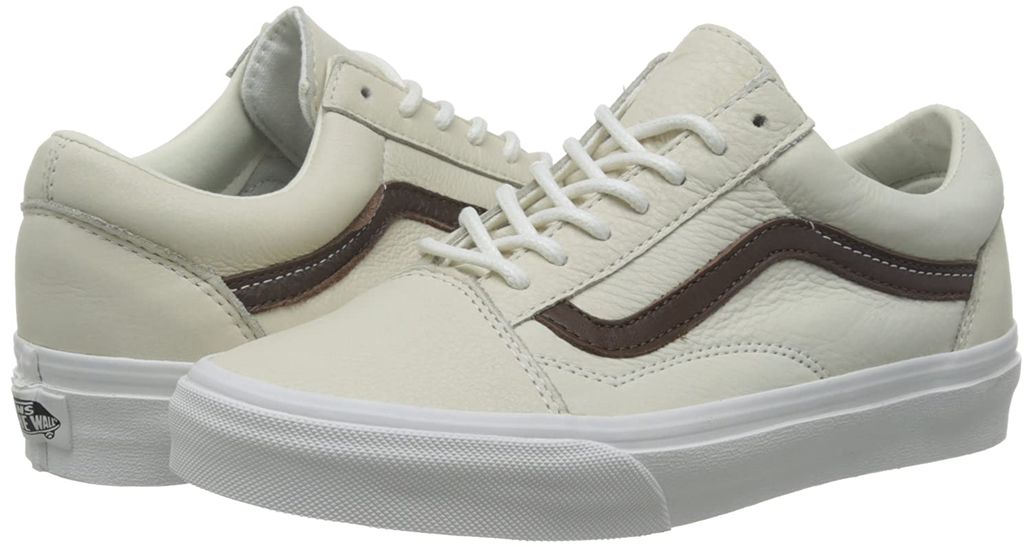 brown old skool vans