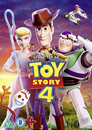 Toy Story 4 Dvd Cover Uk
