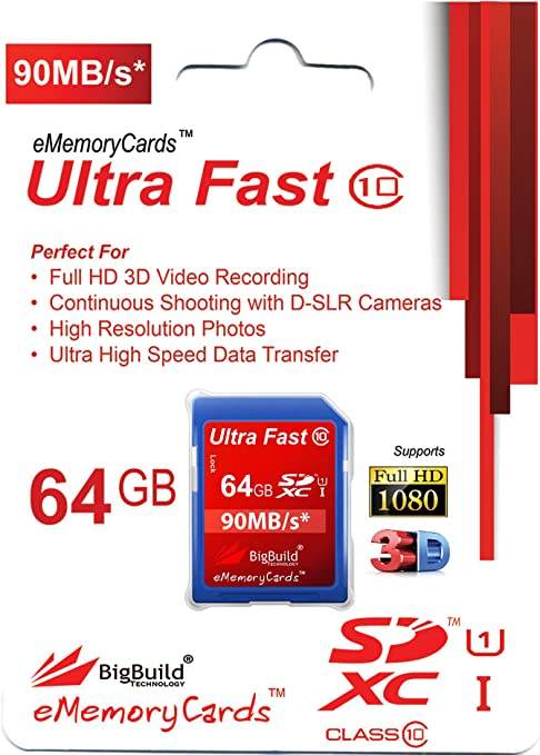 8GB Memory card for Nikon D5000 CameraClass 10 90MB//s Speed SD SDHC New UK