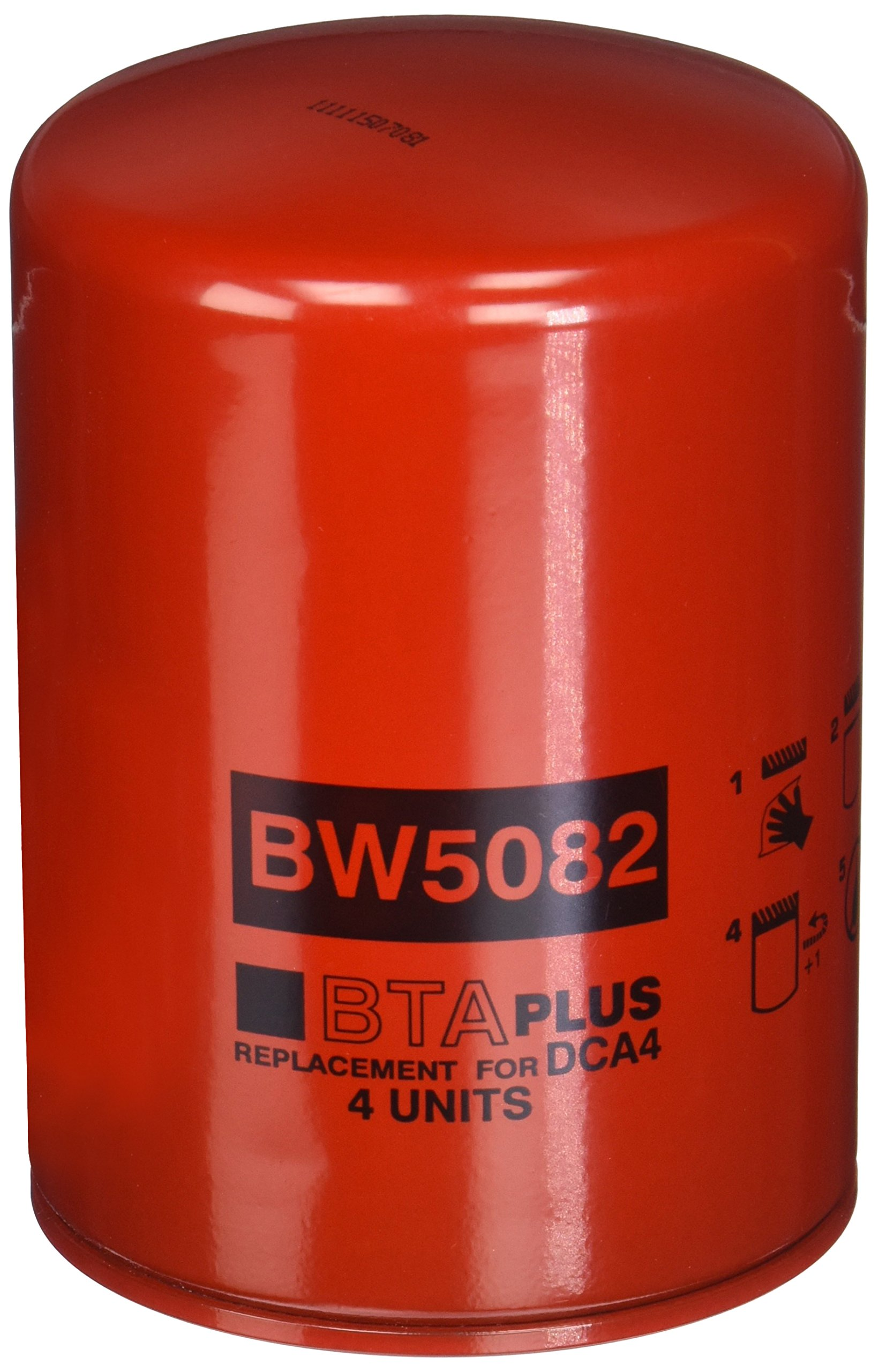 Baldwin BW5082 Coolant Spin-On Filter with BTE Formula