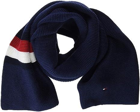 Tommy Hilfiger Heritage Corporate Knit, Echarpe Homme, Bleu (Tommy Navy  413), 13d1728c524
