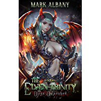 Djinn Unleashed: A Paranormal Harem Adventure (The Elven-Trinity Book 1) (English Edition)