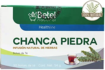 Chanca Piedra (Stone Breaker) Tea by Betel Natural - All Natural Urinary Tract Support - 30 Tea Bags