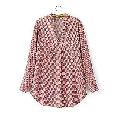Shilian Clothing Womens Casual Summer Ladies Chiffon Ruffle Blouses