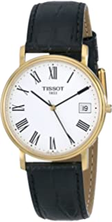Tissot Mens T52542113 T-Classic Desire Leather Watch