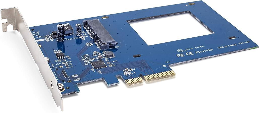 OWC Adaptador PCIe Accelsior S para Unidades SSD SATA III de 2.5 ...