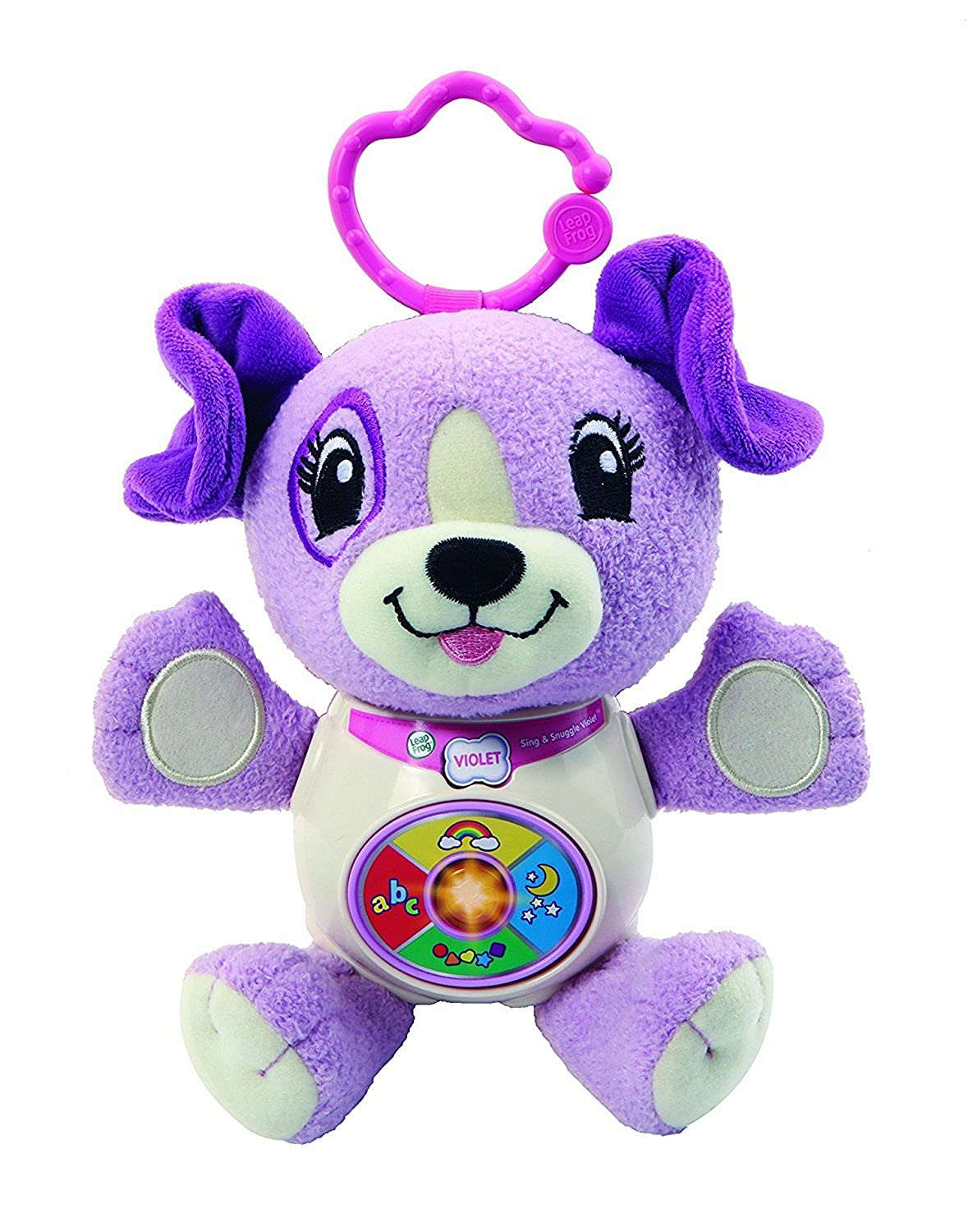 """LeapFrog 601803 """"Sing and Snuggle Toy, Violet"""