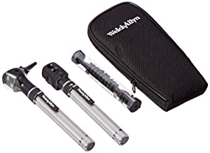 Welch Allyn Complete Diagnostic Set with 2 Heads, 2 AA Handles, 15 Specula and Soft Case