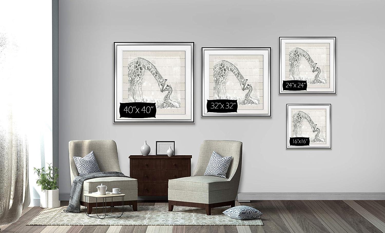 Modern Giraffe Nursery Art