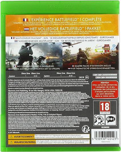 Battlefield 1 - Revolution [Importación francesa]: Amazon.es: Videojuegos