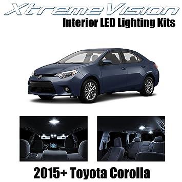 xtremevision Toyota Corolla 2015 + (6 piezas) paquete de interior LED Kit Premium +