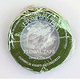 Sugarcraft & Cake Decorating-Nile Green Split Width Floristry Tape-for florist wires on Wedding Cakes & Celebration Cakes