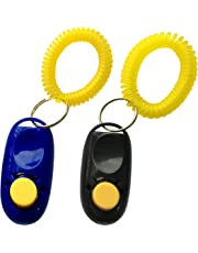 NewNewStar Pet Training Clicker with Wrist Strap - Dog Training Clickers