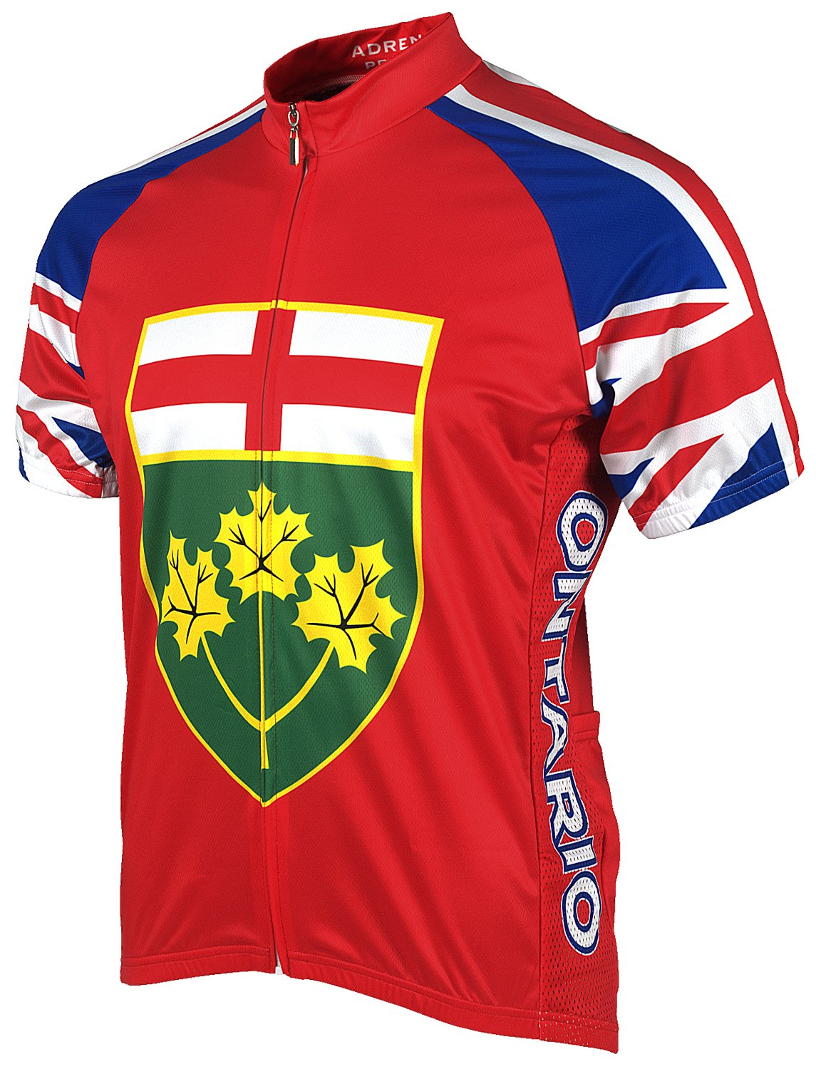 Adrenaline Promotions Canadian Provinces Ontario Cycling Jersey ADRE2