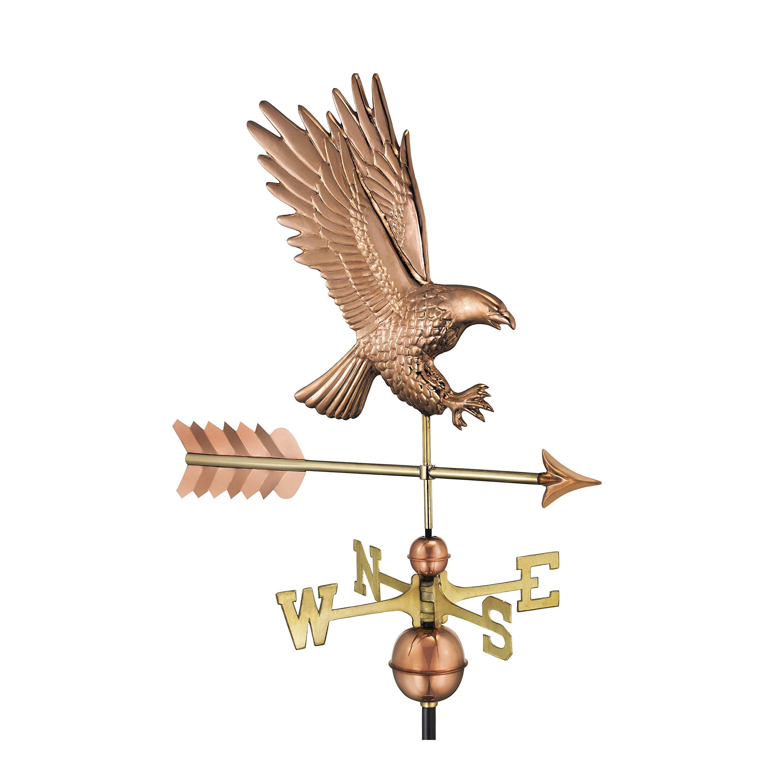 Good Directions American Bald Eagle Weathervane, Pure Copper by Good Directions