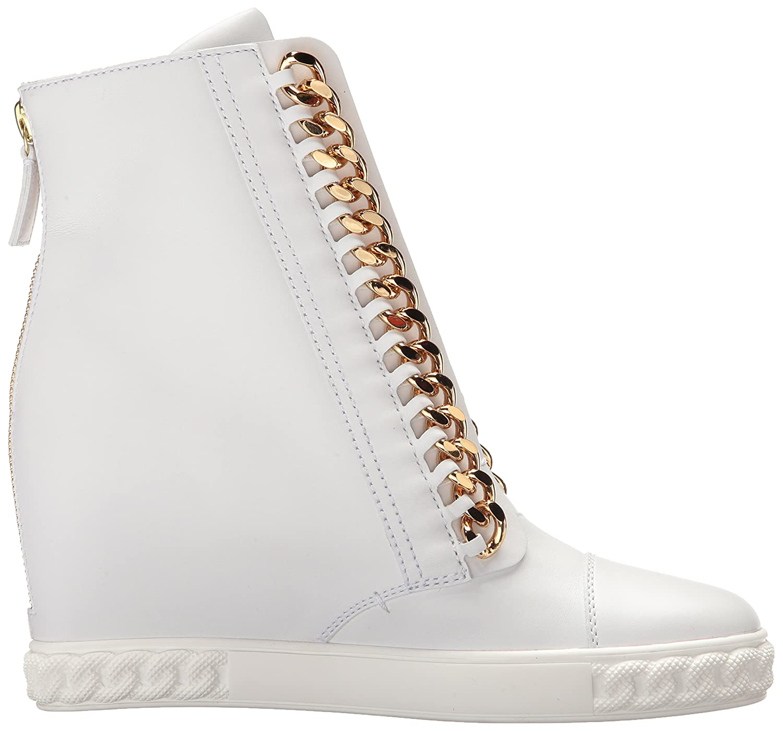 c8ac4e6d95a Amazon.com: Casadei Women's Rock Wedge Fashion Sneaker: Shoes