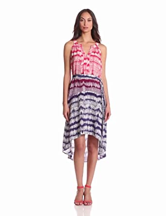 Charlie Jade Women's Holly Dress, Violet/Coral, Small
