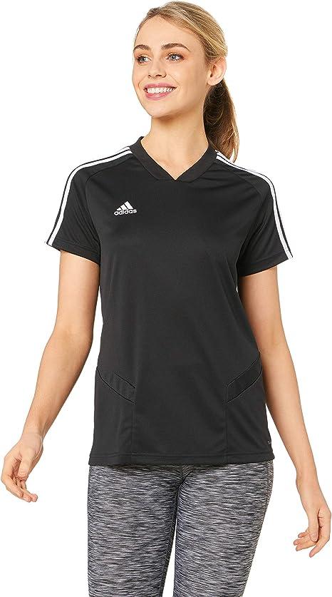 pestaña Quagga medallista  adidas D95932 Camiseta de Manga Corta, Mujer, Black/White, 2XL: Amazon.es:  Deportes y aire libre