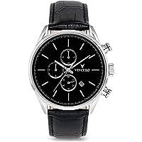 Vincero Luxury Men's Chrono S Wrist Watch - 43mm Chronograph Watch - Japanese Quartz Movement