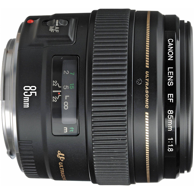 Amazon.com : Canon EF 85mm f/1.8 USM Medium Telephoto Lens for Canon ...