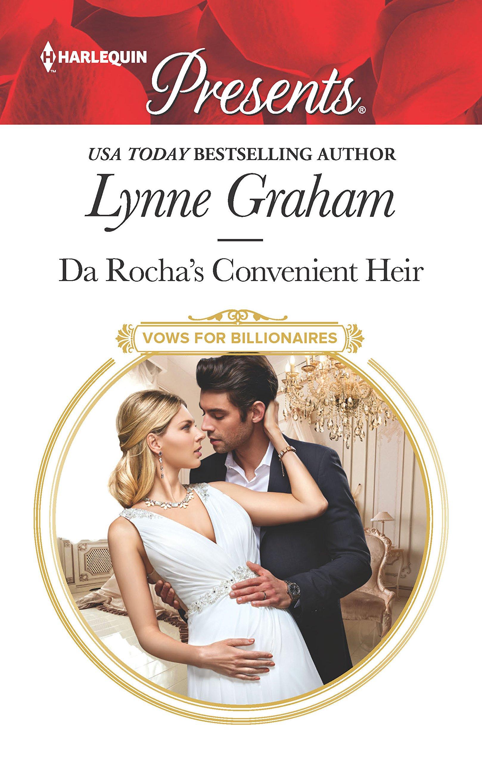 Da Rocha's Convenient Heir: A Billionaire Baby Romance (Vows for  Billionaires): Lynne Graham: 9781335419408: Amazon.com: Books