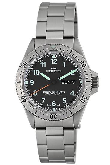 Fortis 610.10.11 M - Reloj de pulsera hombre, acero inoxidable