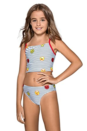 39c1ed96f1e90 Kids Girls Bikini Tankini Swimsuit Swimming Costume New 7-13 Years L89   Amazon.co.uk  Clothing