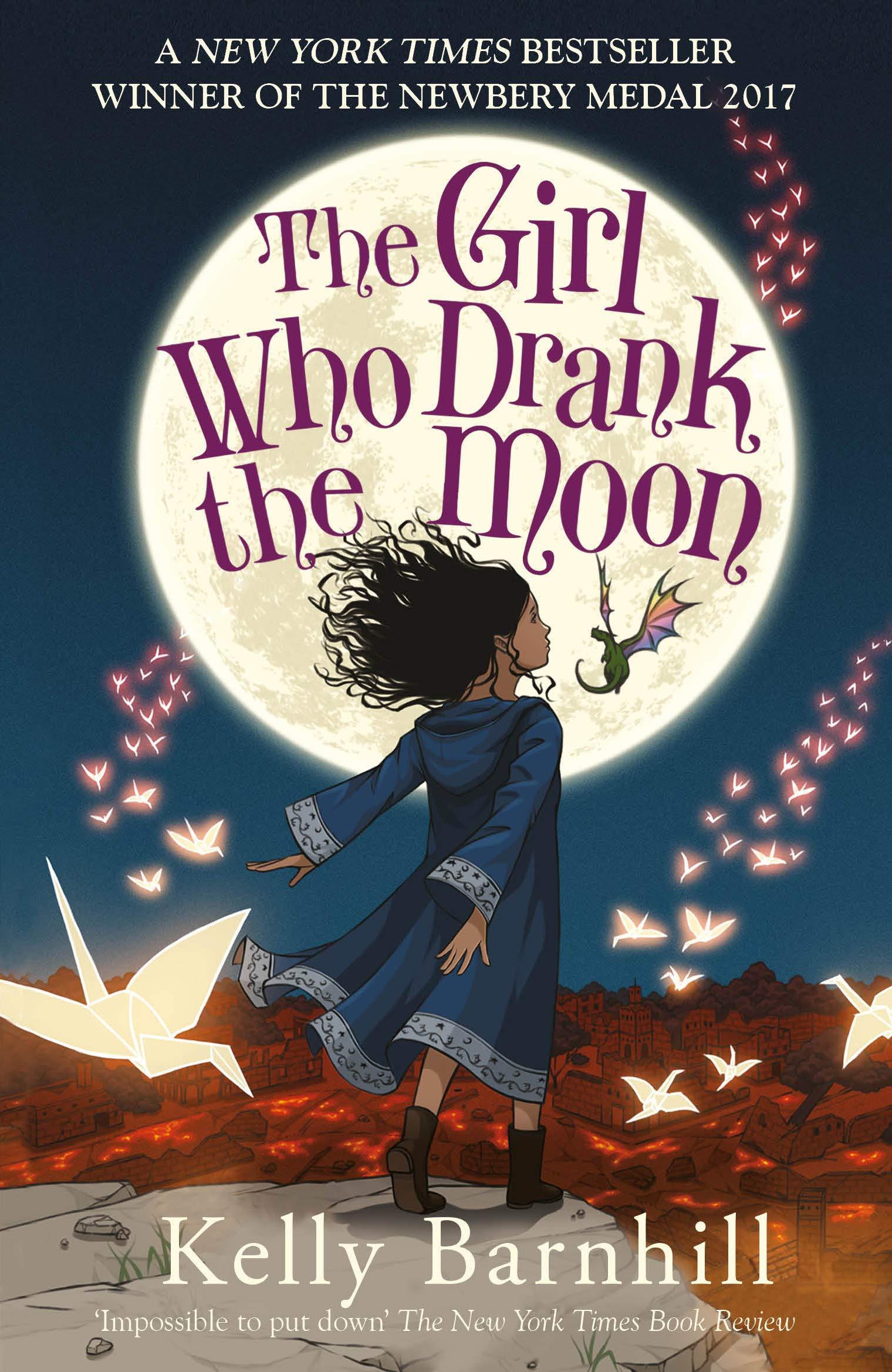 The Girl Who Drank the Moon: Amazon.co.uk: Barnhill, Kelly: Books