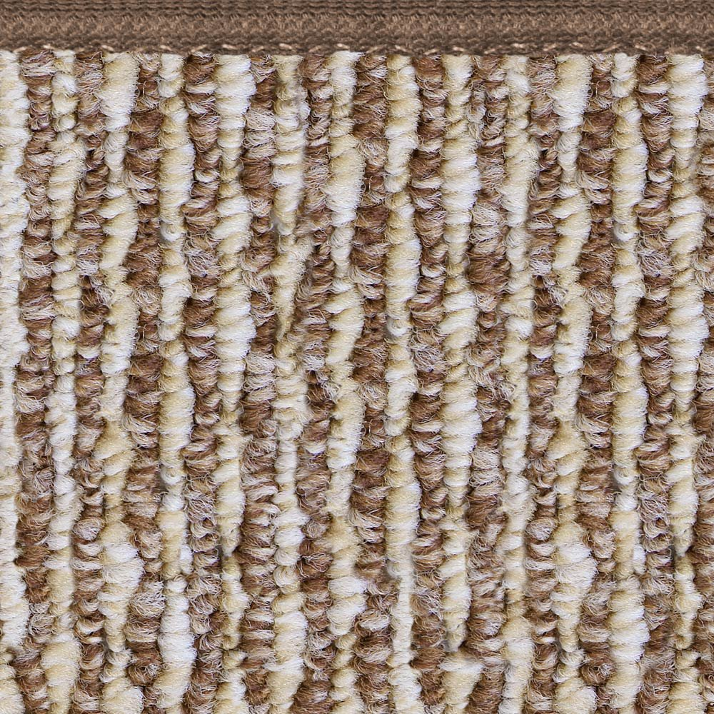 House Home and More Skid-resistant Carpet Runner Praline Brown 4 Ft - Many Other Sizes to Choose From COMINHKR070449 X 27 In