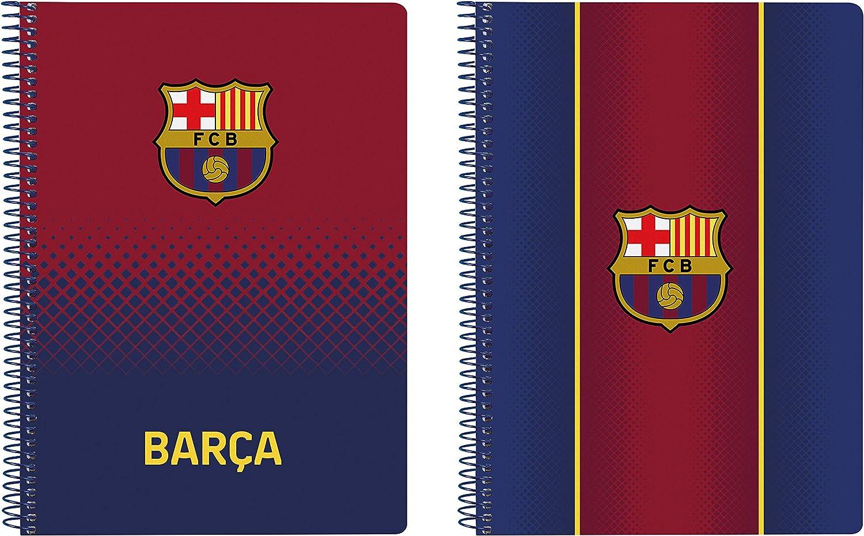 Tapas Duras Cuaderno 80 Hojas A5 de F.C 155x220mm Barcelona 1/ª Equipaci/ón 20//21