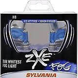 SYLVANIA H8  zXe High Performance Halogen Fog Light Bulb, (Contains 2 Bulbs)