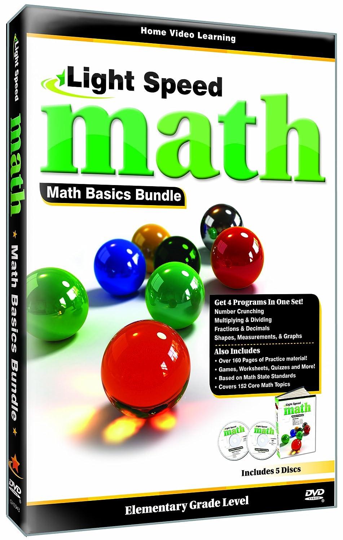 Amazon.com: Light Speed Math: The Basics Bundle: Cerebellum Academic ...