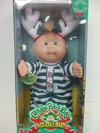 Cabbage patch kids 1997 holiday baby 17606 | ebay.