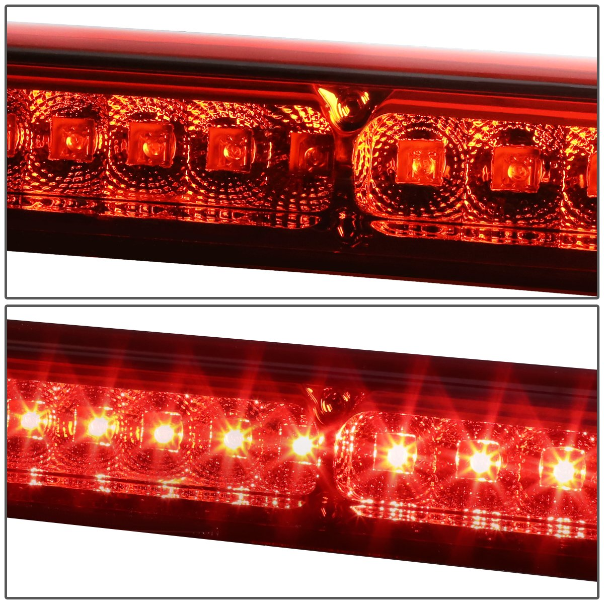 For Ford F150 F250 Excursion High Mount Centre 1962 Truck Brake Lamp Wiring Led 3rd Light Red Lens Automotive