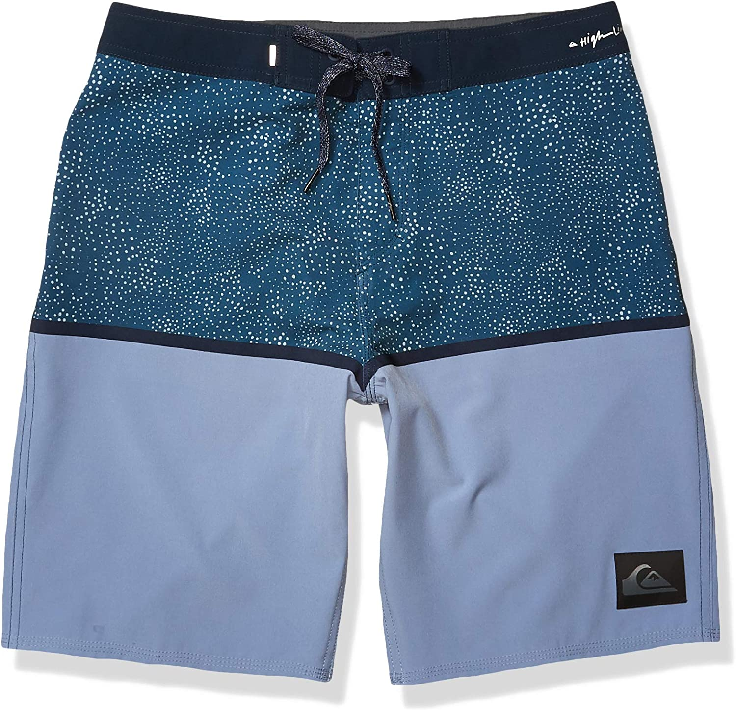 Quiksilver Mens Highline 20 Inch Outseam Stretch Boardshort Swim Trunk
