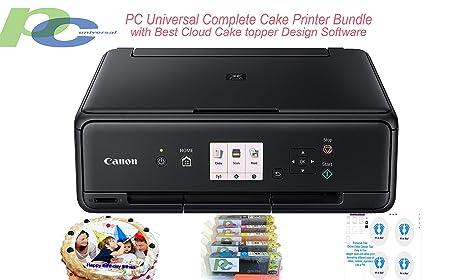 Amazon.com: PC - Juego de impresora universal para tartas ...