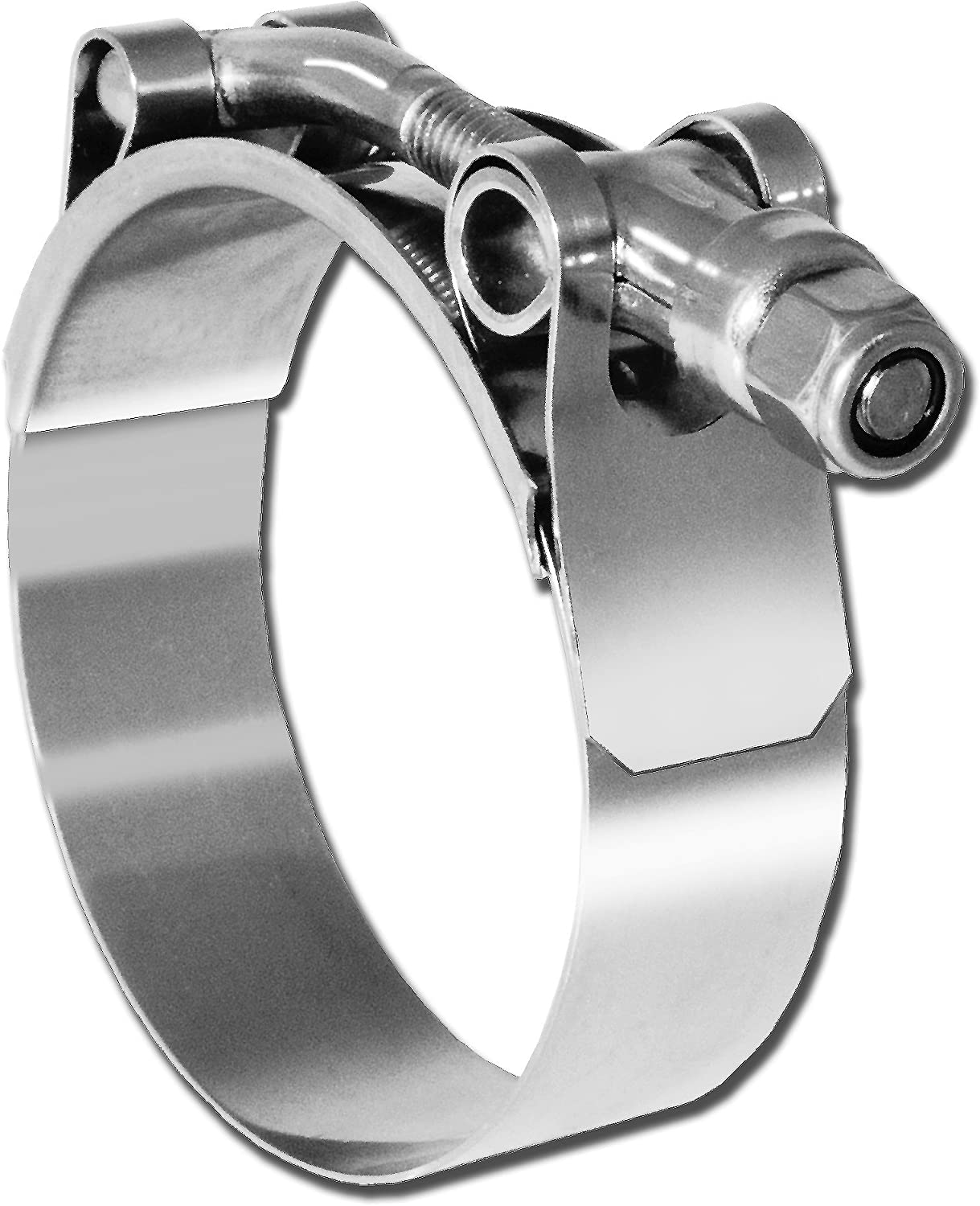3-7//16-Inch SAE Size 72 Pro Tie 33733 T-Bolt All Stainless Hose Clamp Range 3-1//8-Inch