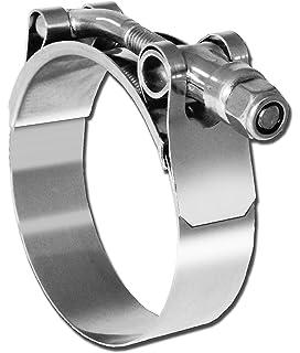 HPS 102mm 110mm Stainless Steel T-Bolt Clamp for 3-3//4 Hose SSTC-102-110