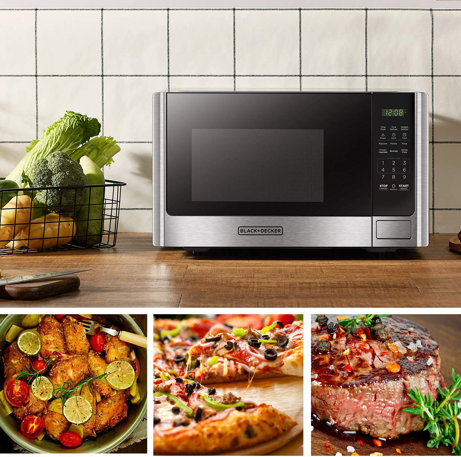 Black and Decker Microwave toaster oven