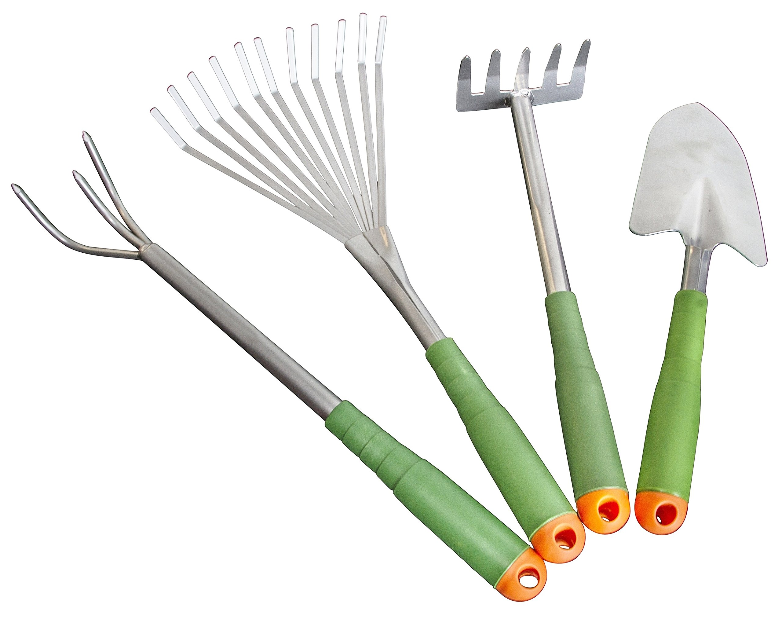 Gardening Tool Set - Light Duty For Women Seniors Arthritis with Extra Long Handles