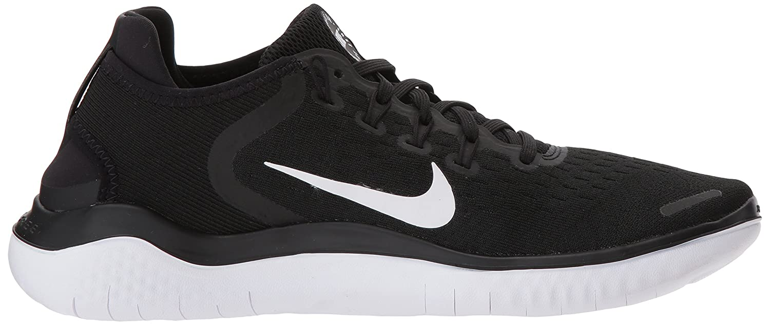 NIKE Women's Free RN 2018 Running Shoe B072TWVPSQ 5.5 B(M) US|Black/White