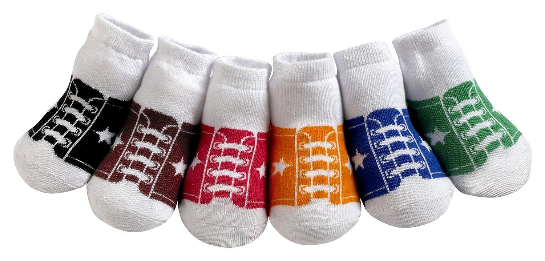 nice Jazzy Toes Boys' Sneaker Socks 6 Pairs supplies