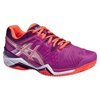 on sale 859d4 fd9ee Asics Gel-Resolution 6 Clay Chaussures de Tennis (35.5 EU)