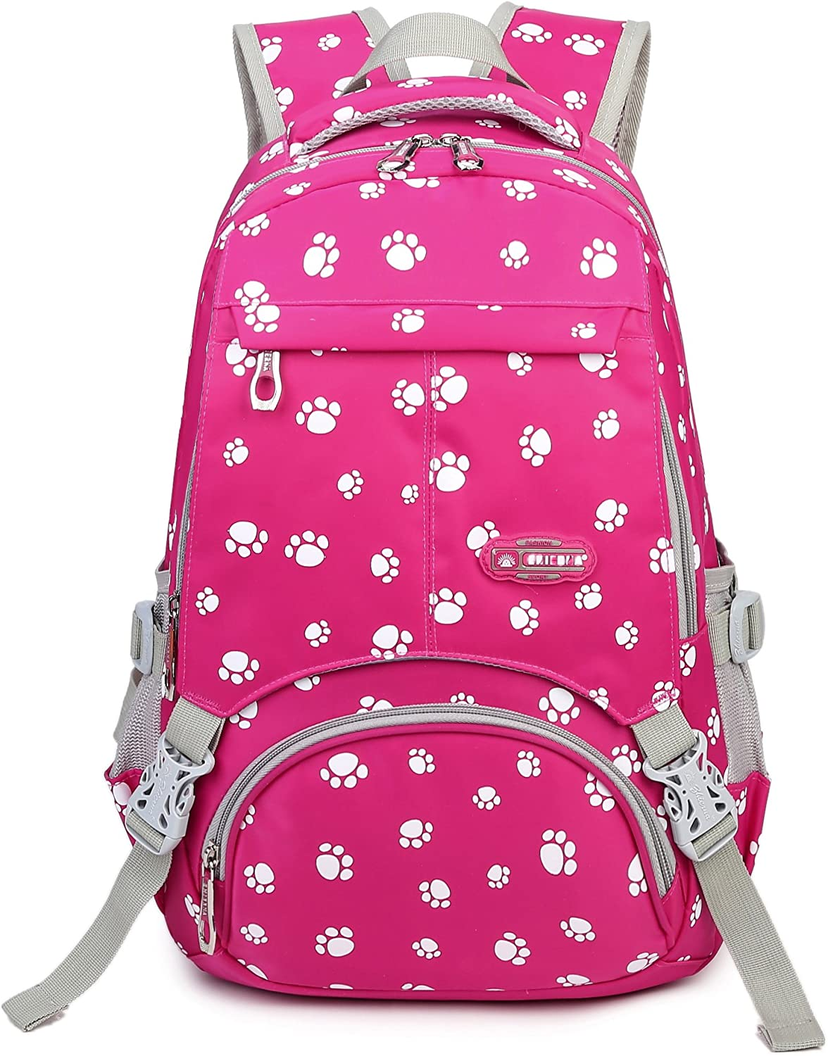 Presents Gifts for Girls Bookbags for kids Primary School Bags Backpacks for Children (Hot Pink)