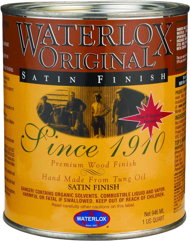 Waterlox TB 6044 Original Satin Finish, Quart