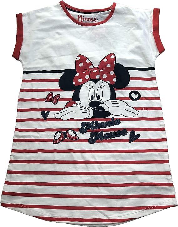 Disney Minnie Ragazze Camicia da notte bianco