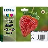 Encre d'origine EPSON Multipack Fraise T2996 : cartouches Noir XL, Cyan XL, Magenta XL et Jaune XL