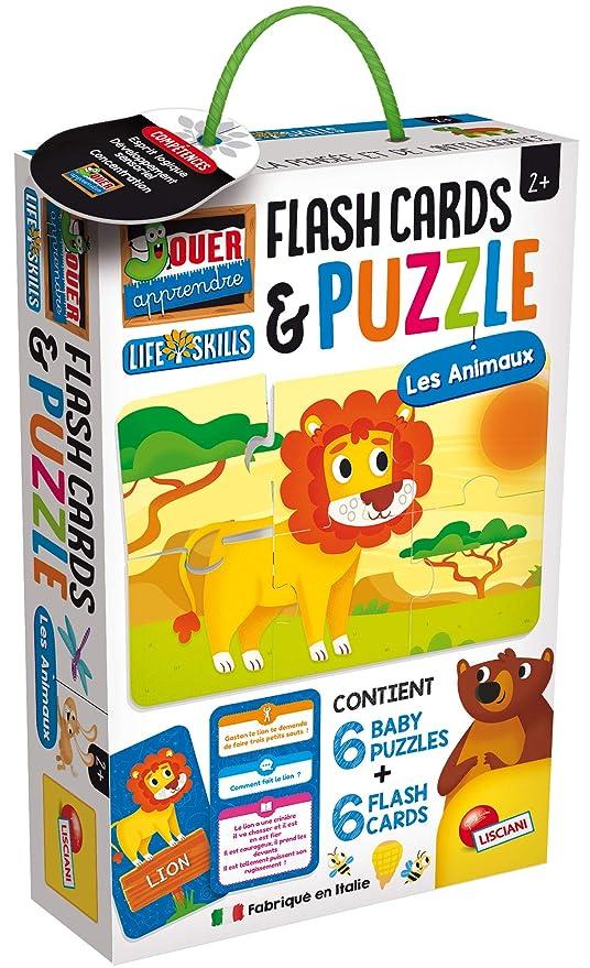 Lisciani Life Skills Juegos Educativos - Puzzle de los Animales ...