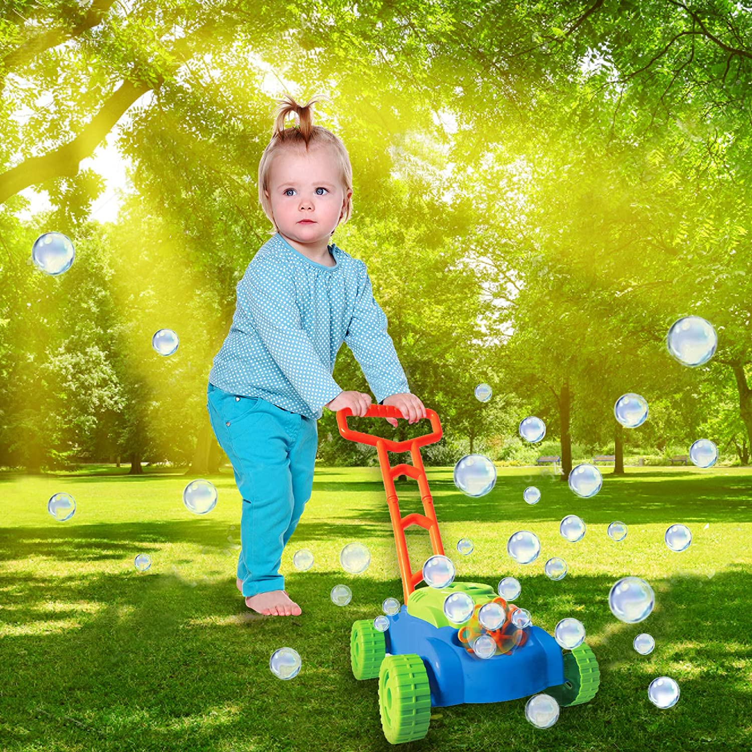 Top 7 Best Bubble Lawn Mower For Kids & Toddlers 2020 5