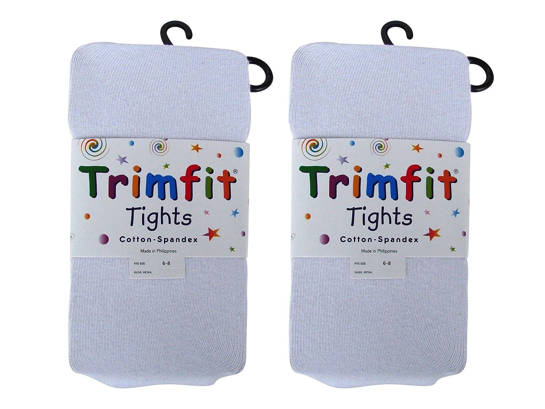 Trimfit Girls 2 PR Flat Knit Tights 20119